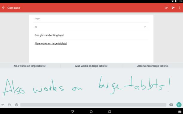 app per scrittura a mano